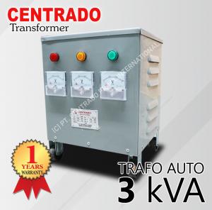 CENTRADO TrafoAuto-3kva