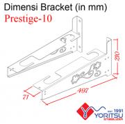 Prestige-10_Bracket-Yoritsu-10kva-dimensi