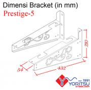 Prestige-5_Bracket-Yoritsu-5kva-dimensi