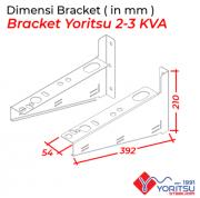 dimensi-Bracket-Yoritsu-2-3kva