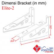 elite-2_Bracket-Yoritsu-2kva-dimensi