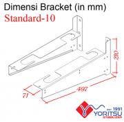 standard-10_Bracket-Yoritsu-10kva-dimensi