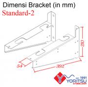 standard-2_Bracket-Yoritsu-2kva-dimensi