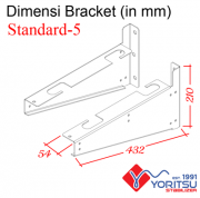 standard-5_Bracket-Yoritsu-5kva-dimensi