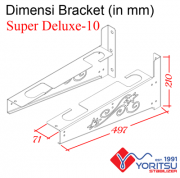 superdeluxe-10_Bracket-Yoritsu-10kva-dimensi
